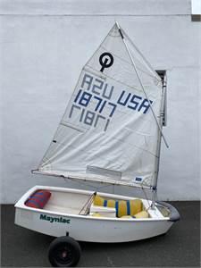Bargain 1999 McLaughlin Opti - GREAT Trainer Boat