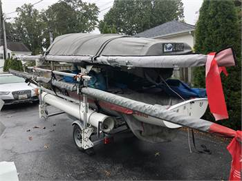 2 Nautivela i420's with a 2-Boat Trailer !
