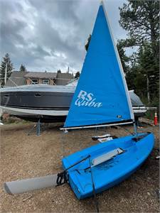 Notice of Sale of Surplus Public Property: Two RS Quba Sailboats for sale