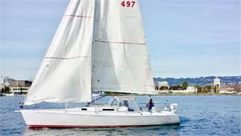 J/105 set up for short-handed sailing for sale!