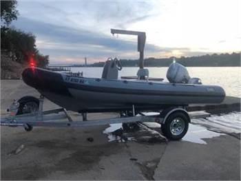 McLaughlin Kiwi 4.8 RIB, Honda Outboard