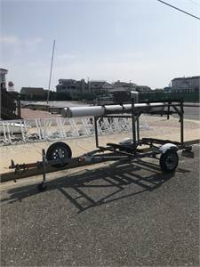 Two Boat Opti Trailer