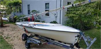 2002 Vanguard Club 420 w/trailer and dolly