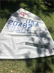 J Blue 2.0 Sail Used in 3 Regattas