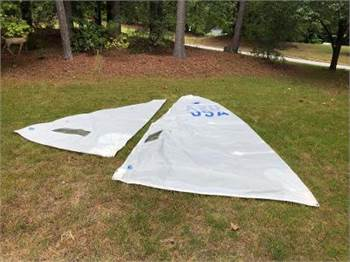 Snipe North Sails Set Great Condition