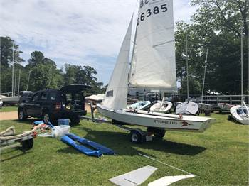 1986 Phoenix Snipe 26385, trailer, New running rigging, refurbished and ready to sail