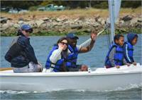Lead Instructor and Instructors: Alameda Community Sailing Center on SF Bay