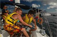 Skippers wanted to lead teen sailing programs this summer in the Caribbean!